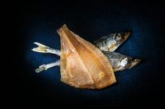 Droge vissen Stock Foto's