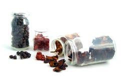 Droge vruchten Royalty-vrije Stock Foto's