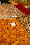 Droge vruchten stock foto