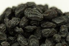Droge vruchten, de droge zwarte rozijn van de de sultanarozijnen zwarte bes van druivenmanuka stock foto's