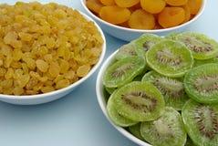Droge vruchten - detail Stock Foto's