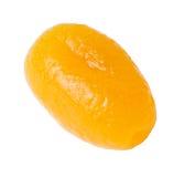 Droge vruchten die op wit worden geïsoleerdi Stock Afbeeldingen