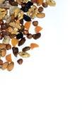 Droge vruchten en noten Royalty-vrije Stock Afbeeldingen