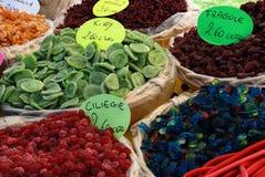 Droge vruchten - Mengeling Stock Foto's