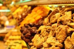 Droge Vruchten op Spise-Bazaar royalty-vrije stock foto