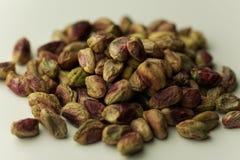 Droge vruchten, uitgespreide de noten van de pistapistache royalty-vrije stock afbeelding