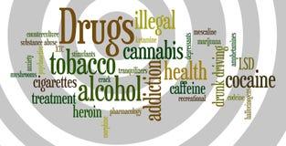 Drogen Lizenzfreie Stockbilder