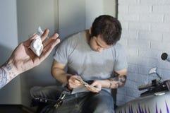 Drogen-Abkommen Stockbilder