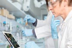 Drogen-Forschung Lizenzfreie Stockfotografie