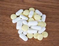 Drogen/Pillen Lizenzfreies Stockfoto