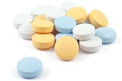 Drogen und Pillen Lizenzfreie Stockfotos