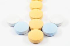 Drogen und Pillen Stockfotos