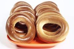 Drogende doughnut Stock Afbeelding