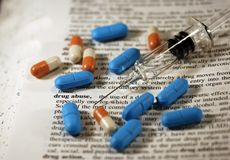 Drogenmissbrauch Lizenzfreie Stockbilder