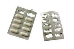 Droger som isoleras på vit bakgrund Fotografering för Bildbyråer