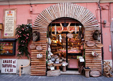 Drogheria italiana fotografie stock