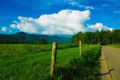 Drogi boczna góra Fotografia Stock