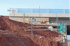 Drogi bridżowy w budowie Zdjęcia Royalty Free