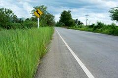 Drogi i ruchu drogowego znak Obrazy Royalty Free