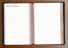 drogi pamiętniku Obrazy Royalty Free