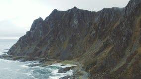 Drogi przy Północnym Norwegia zbiory