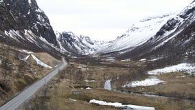 Drogi w Norwegia zbiory