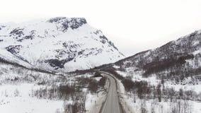 Drogi w Norwegia zdjęcie wideo