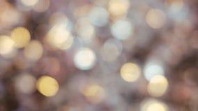 Drogi Wielki świecznik szkło W filharmonii Lub restauraci Świecznika oświetlenie W Hall, Bokeh, świecenie, łuna zbiory wideo