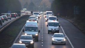 Drogowa autobahn autostrady autostrada zbiory wideo