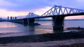Drogowa i bridżowa budowa Fotografia Royalty Free