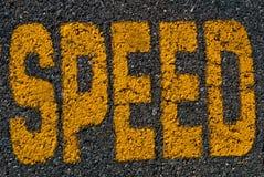 drogowa prędkość Fotografia Royalty Free
