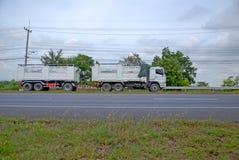 drogowa Pyrenees halna ciężarówka Spain Fotografia Stock