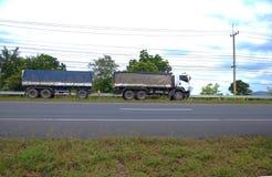 drogowa Pyrenees halna ciężarówka Spain Obrazy Royalty Free