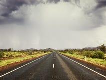 Drogowa zła pogoda Fotografia Stock