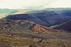 drogowe góry Obrazy Stock