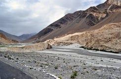drogowe himalajskie góry Fotografia Royalty Free
