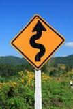 drogowego znaka cewienie Fotografia Stock