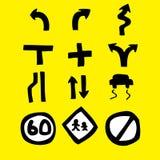 Drogowego znaka ikona Zdjęcia Stock