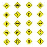 drogowego znaka ruch drogowy nierówny ostrzeżenie Obraz Royalty Free