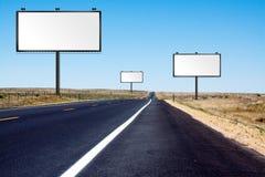 drogowi asfaltowi sztandary ilustracja wektor
