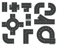 Drogowi elementy ilustracji