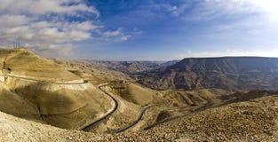 drogowi Jordan królewiątka Zdjęcie Royalty Free