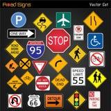drogowi znaki Zdjęcie Stock