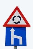 Drogowi znaki 24 Obraz Royalty Free