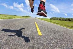 drogowy akcja biegacz Zdjęcie Stock