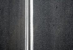 drogowy asfaltowa zamknięta drogowa tekstura Obraz Royalty Free