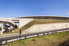 Drogowy autostrady złącze Zdjęcia Stock