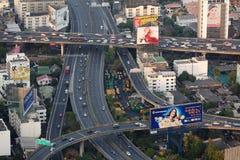 drogowy Bangkok ruch drogowy Fotografia Royalty Free