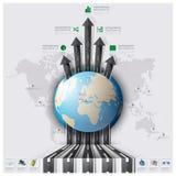 Drogowy I Uliczny Światowej mapy biznes Inf pas startowy podróży I podróży ilustracji