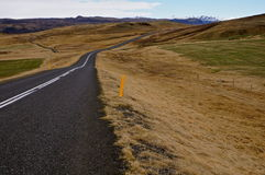 Drogowy Iceland Obraz Royalty Free